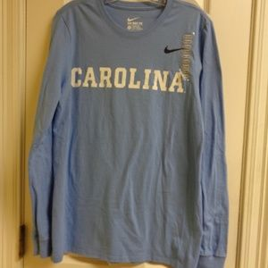 UNC Nike Long Sleeve Tee Shirt